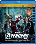 The Avengers 3D Bluray
