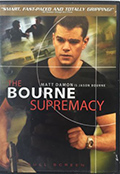 The Bourne Supremacy Fullscreen DVD
