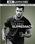 The Bourne Supremacy UltraHD Bluray