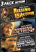 Missing in Action 3 Pack Action DVD