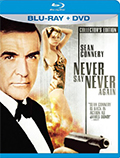 Never Say Never Again Bluray