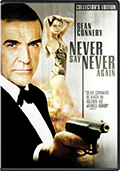 Never Say Never Again Collector's Edition DVD