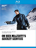 On Her Majesty's Secret Service Bluray
